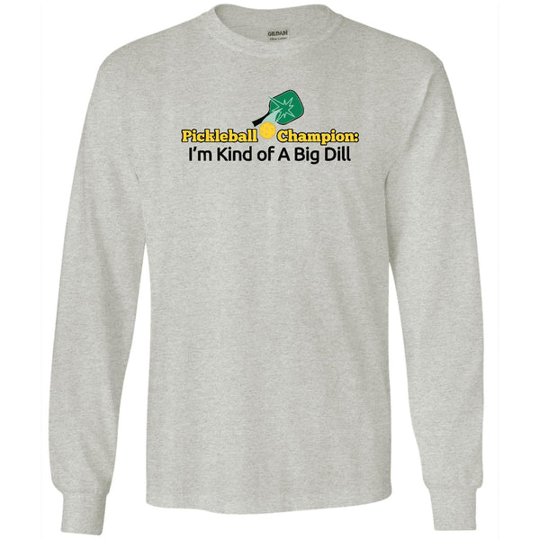 Bill Dill - Pickleball - Men's Long Sleeve T-Shirt