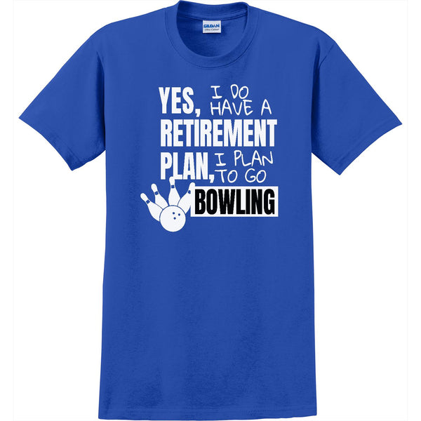 Retirement Plan-Bowling-Men's Crew
