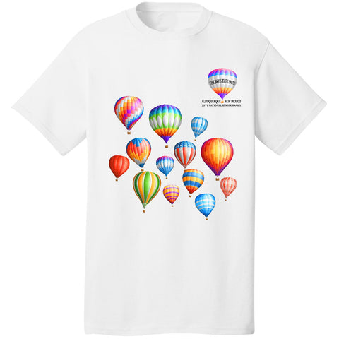 2019 National Senior Olympics, Arizona, Official Shirt, Unisex Short Sleeve Crew Neck T-shirt
