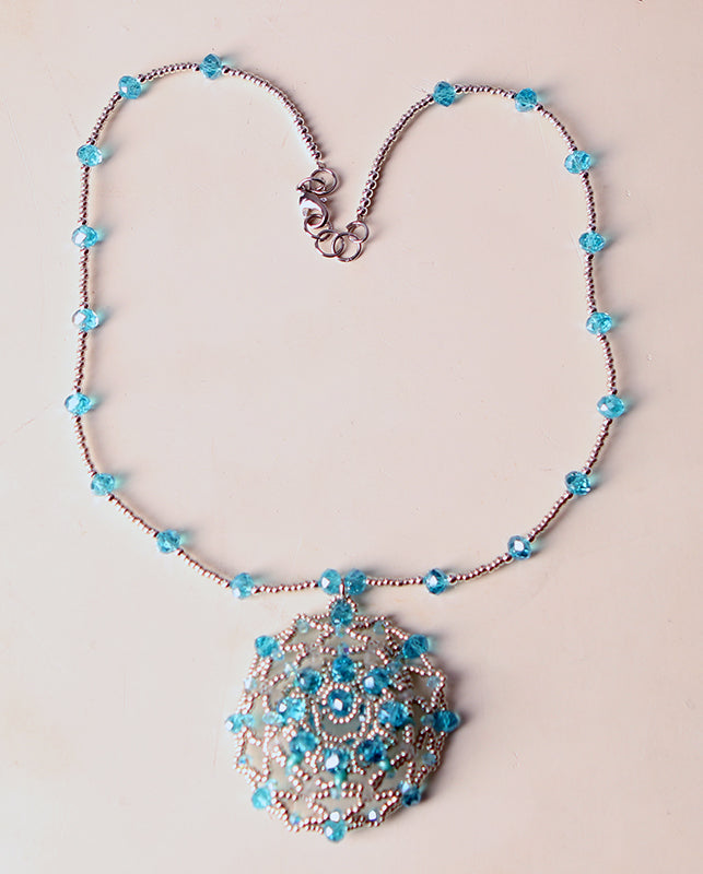 BLUE SEA NECKLACE