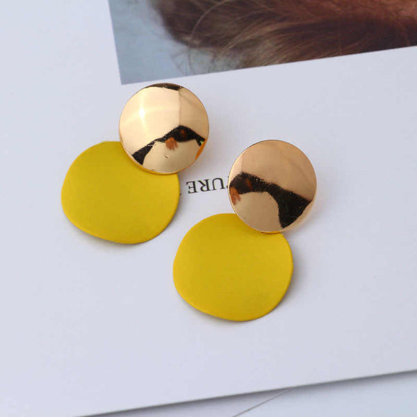 "Earrings ""YELLOW GOLD"""