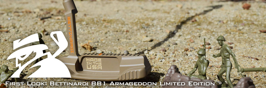 FIRST LOOK: Bettinardi BB1 Armageddon Limited Edition