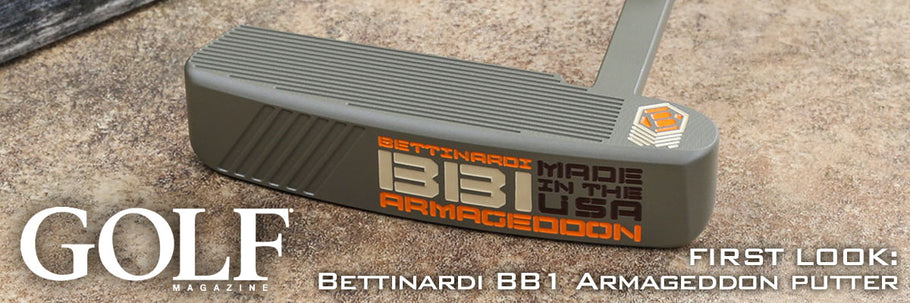 FIRST LOOK: Bettinardi BB1 Armageddon putter