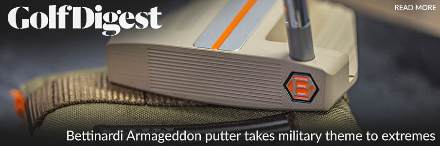 Bettinardi BB56 Armageddon Putter - Made From Scrap Humvee Metal