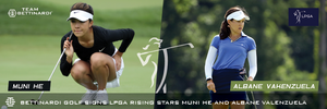Bettinardi Golf Signs LPGA Rising Stars Muni He and Albane Valenzuela