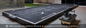 BETTINARDI RE-OPENS STUDIO B WITH QUINTIC PUTTING SYSTEM