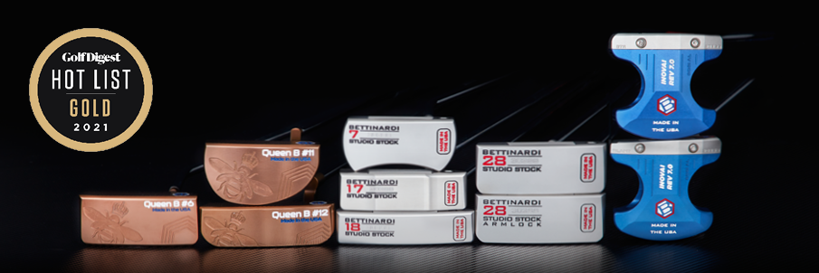 Bettinardi 2021 Series win Golf Digest Hot List Gold