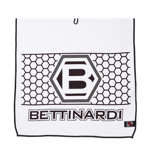 Players Golf Towel (Black/White/Gray)