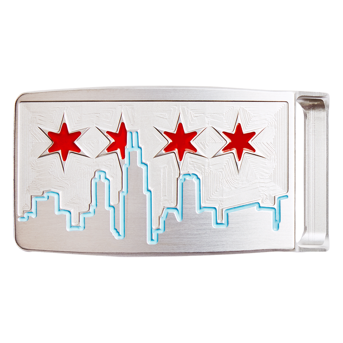 Chicago Skyline Belt Buckle
