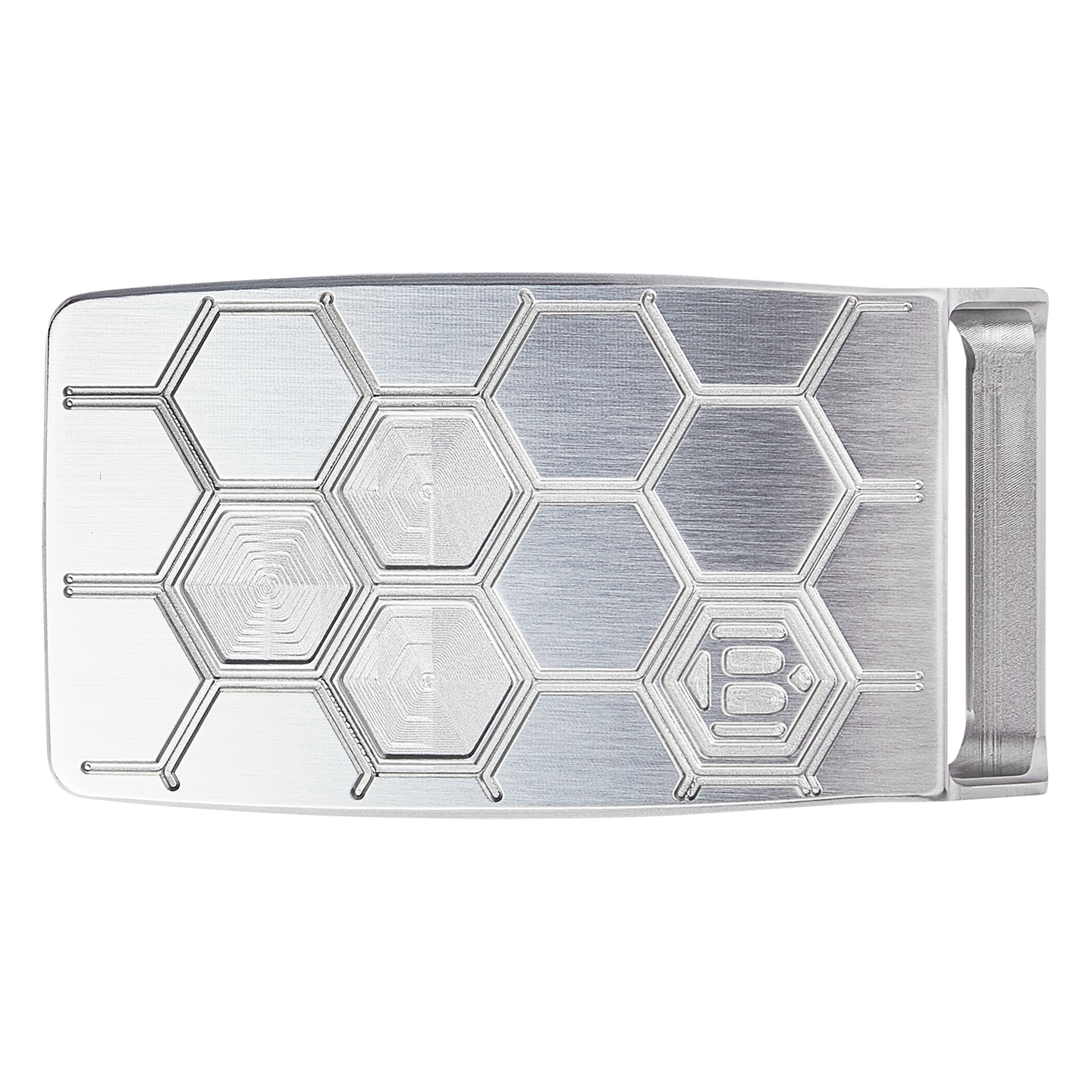 Hex B Honeycomb Belt Buckle