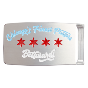 Chicago's Finest Putters Belt Buckle