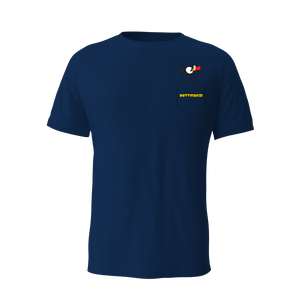2021 Party On! Pocket Tee (Navy)