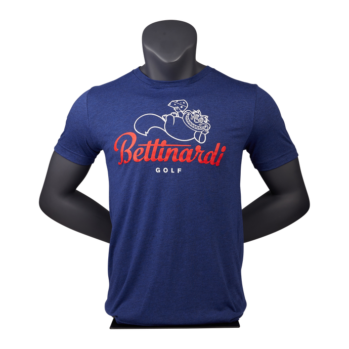 Bettinardi Fat Cat T-Shirt (Navy)