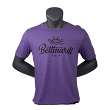 Bettinardi Skull & Bones T-Shirt (Purple/Black)