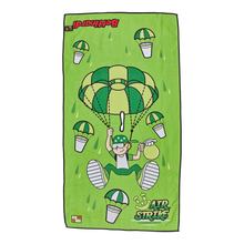 Airstrike Betti Boy Lime Players Towel