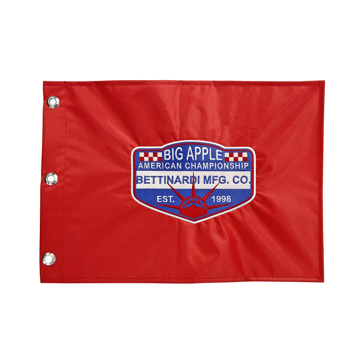 American Championship Embroidered Pin Flag
