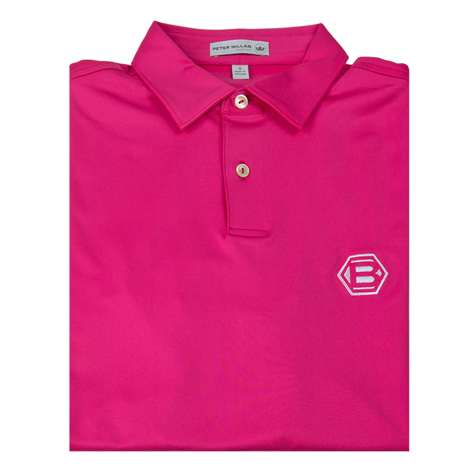 Bettinardi Solid Stretch Jersey 'Tour Fit' Performance Polo