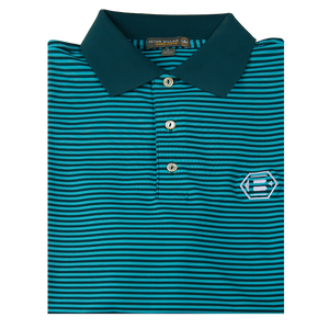 Bettinardi Competition Striped Stretch Jersey 'Crown Sport' Performance Polo