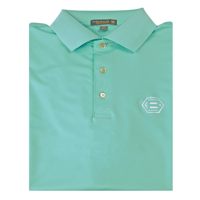 Bettinardi Solid Stretch Jersey 'Crown Sport' Performance Polo