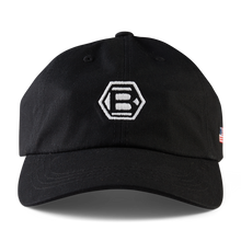 Black Hex B USA Dad Cap