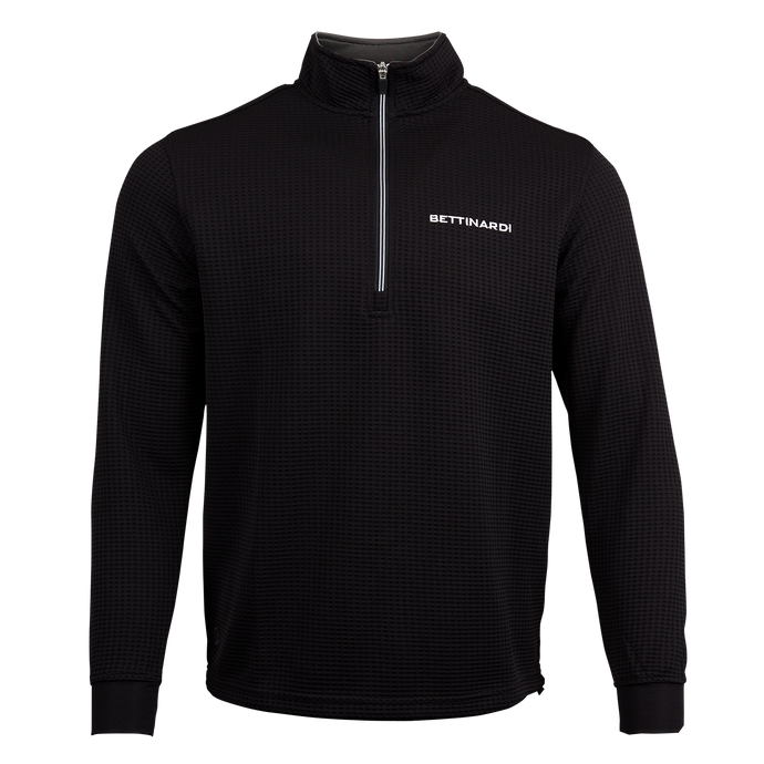 Bettinardi Waffle Knit Performance Pullover (BLACK)