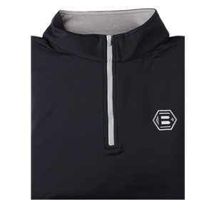 Bettinardi Stretch Quarter Zip Pullover (Black)