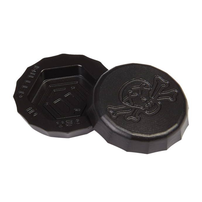 Poison Skull & Bones Blackout Bottle Cap