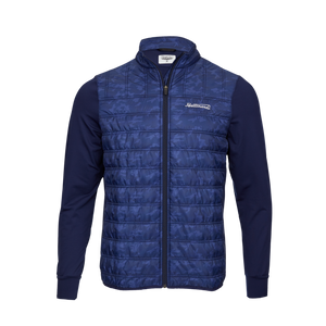Bettinardi Script Camo Performance Jacket (Blue)