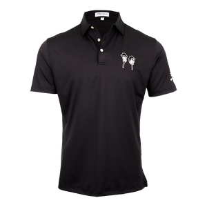 Blues Brothers x Bettinardi T-Hive Polo (Black)