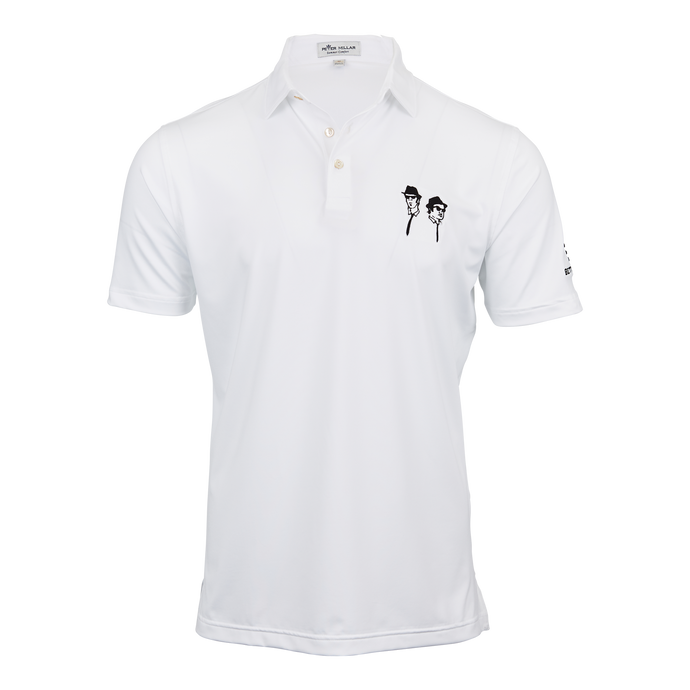 Blues Brothers x Bettinardi T-Hive Polo (White)