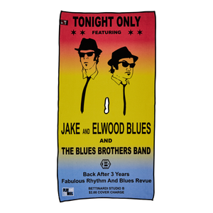 Blues Brothers Studio B Concert Players Towel