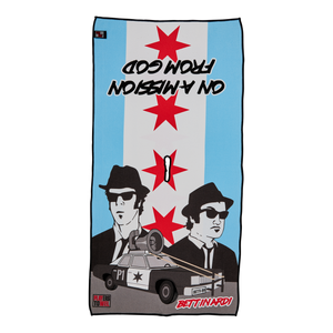 Blues Brothers 'Mission From God' Players Towel