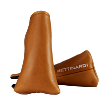Hex B Genuine Tan Leather Headcover