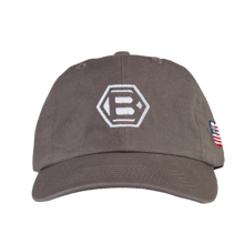 Hex B USA Grey Dad Cap