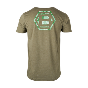 Bettinardi Hex B Green Camo Tee (Moss)