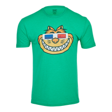 Fat Cat 3D Chi-Town Glasses Tee (Green)