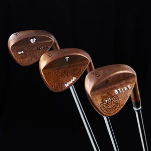 Fat Cat Japanese Bronze Wedges (50,54,58)