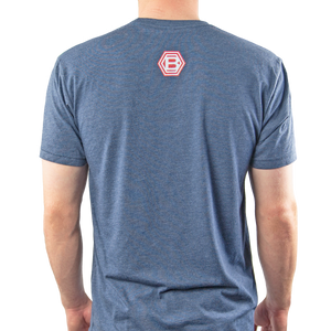 Bettinardi Scripted T-Shirt  Navy