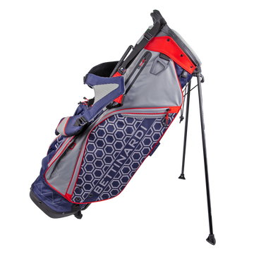 Grey & Navy Stand Golf Bag