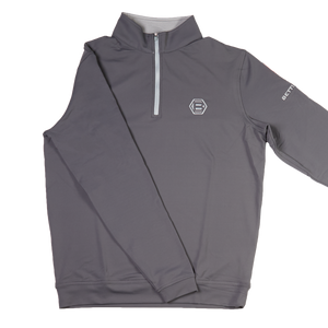 Bettinardi Stretch Quarter Zip Pullover (Iron)