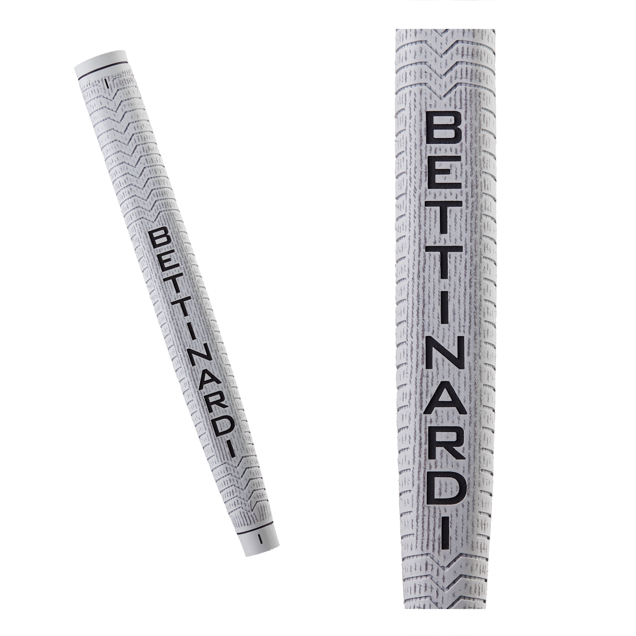 Light Grey Bettinardi Deep Etched Putter Grip (Jumbo)