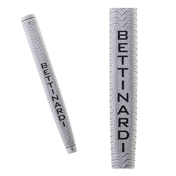 White & Grey Bettinardi Deep Etched Putter Grip (Jumbo)