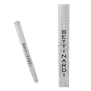 White & Grey Bettinardi Deep Etched Putter Grip (Standard)