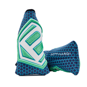 Jumbo Hex B Headcover (Blue/Green)
