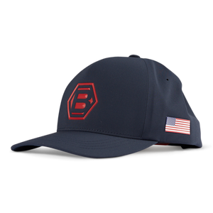 Bettinardi USA Performance Cap - Navy/Red
