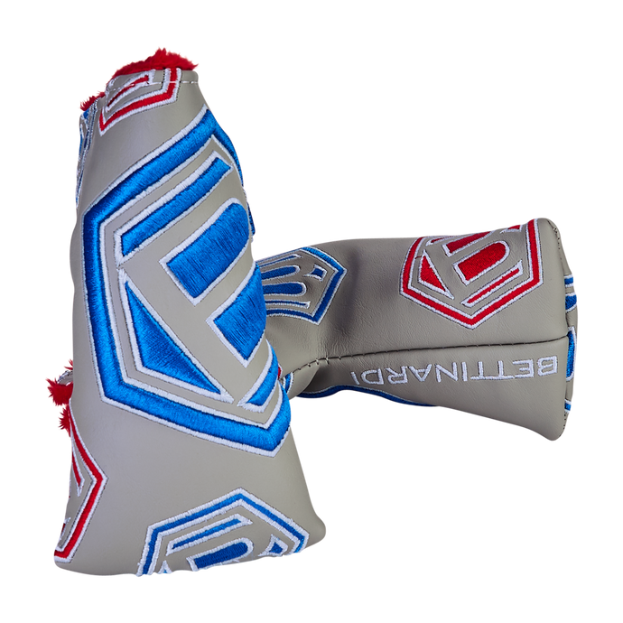 Dancing Hex B Headcover (Grey/Red/Blue)