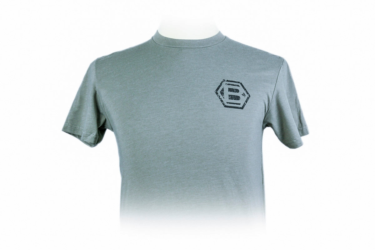 Hex B T-Shirt - Gray - BettinardiGolf