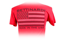 Hex B T-Shirt - Red - BettinardiGolf