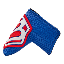 Jumbo Hex B Headcover (Blue/Red)