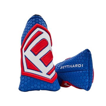 Hex B Print Headcover (Blue/Red)